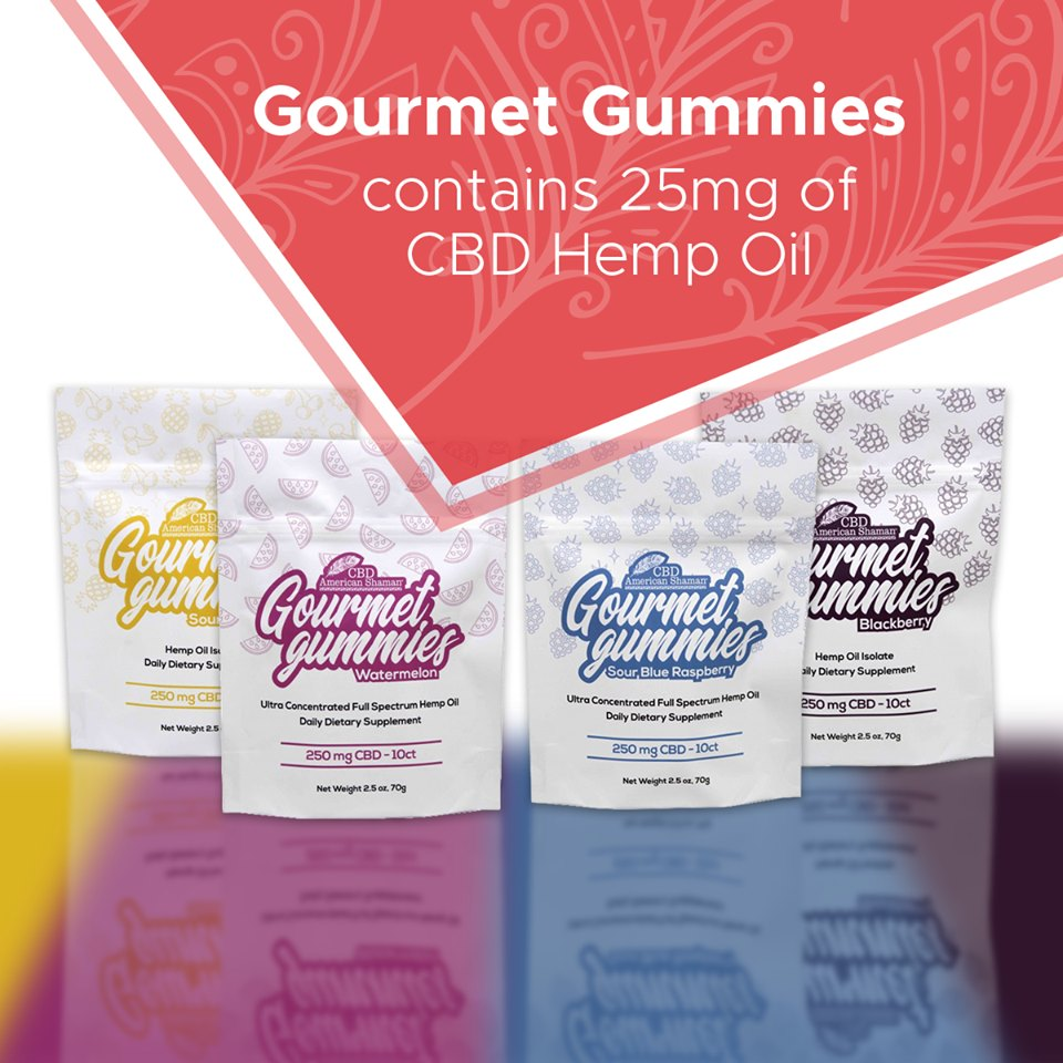 CBD Gourmet Gummies
